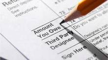 1040 tax form amount owed