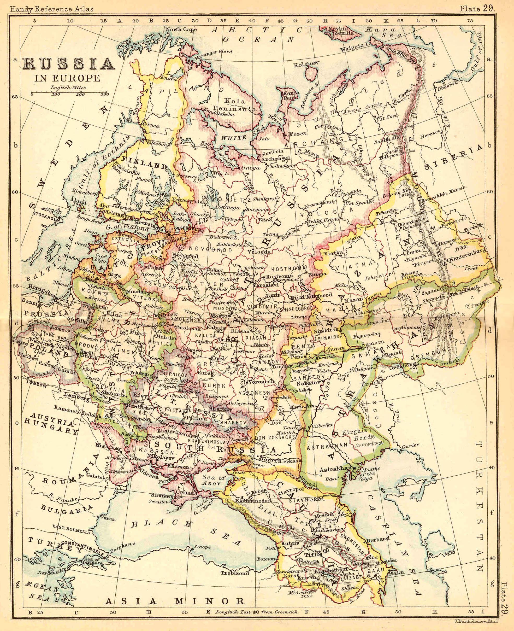 Russia in Europe 1887 | FEEFHS