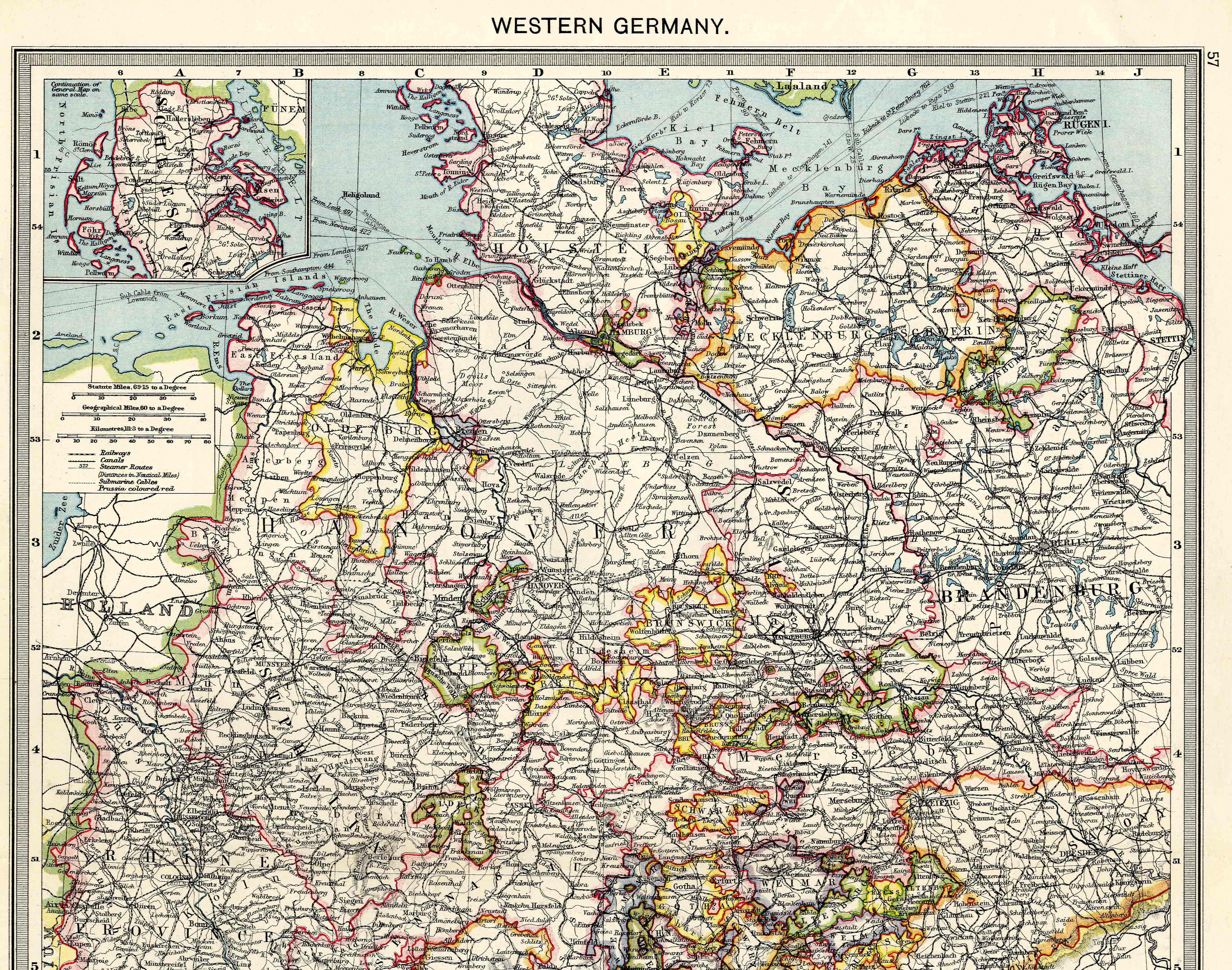 Western Germany North 1908 Feefhs