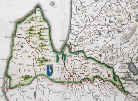 Courland in 1670