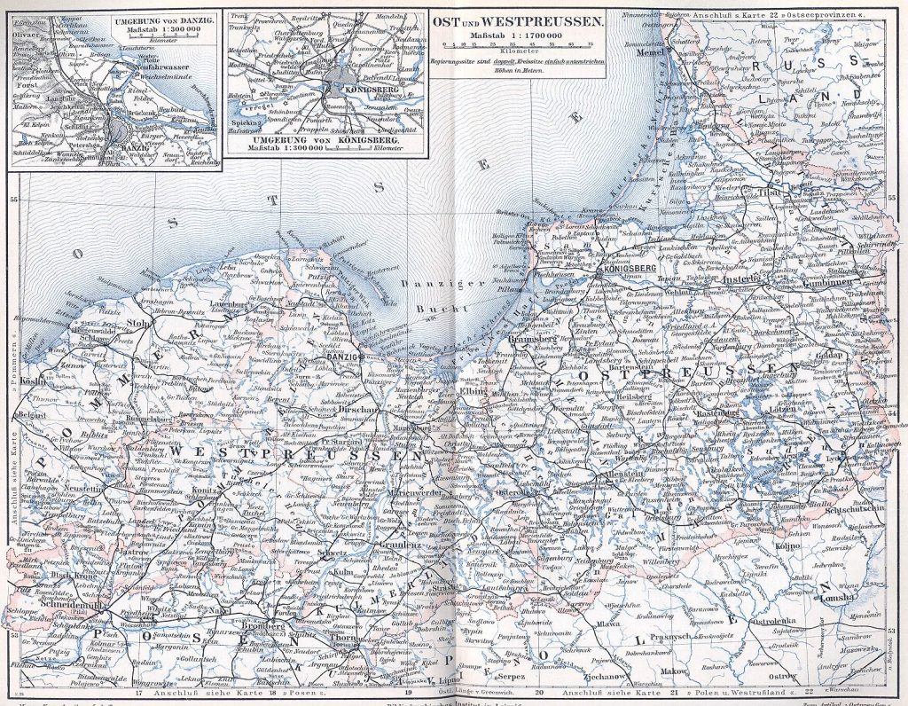 East- and West Prussia in 1871