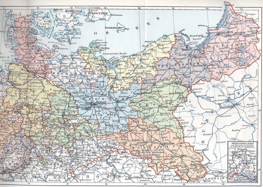 German Empire in 1871