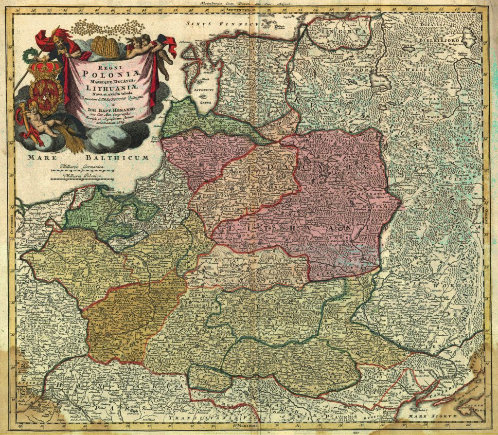 Lithuania and Poland in 1739