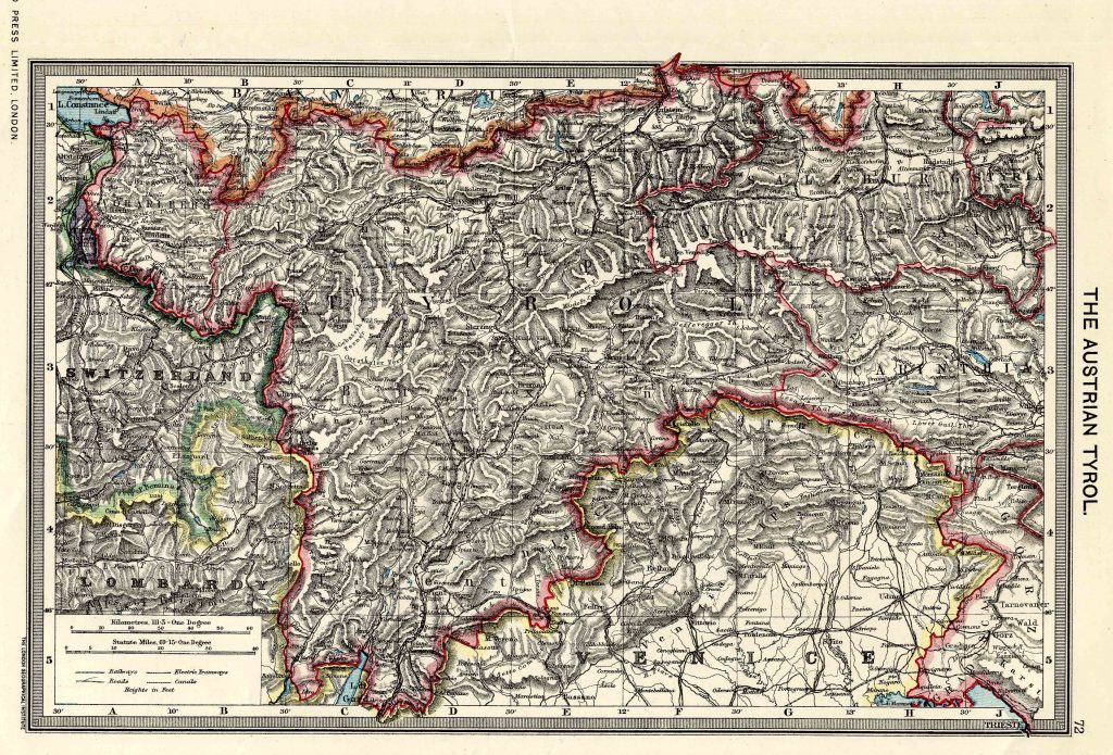 Austrian Tyrol 1908 - High Resolution