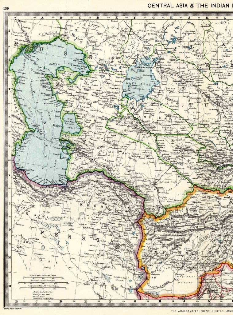 Central Asia West 1908