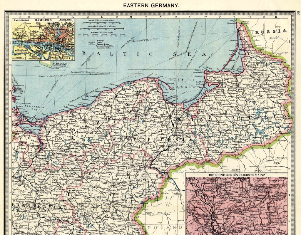 Eastern Germany North 1908