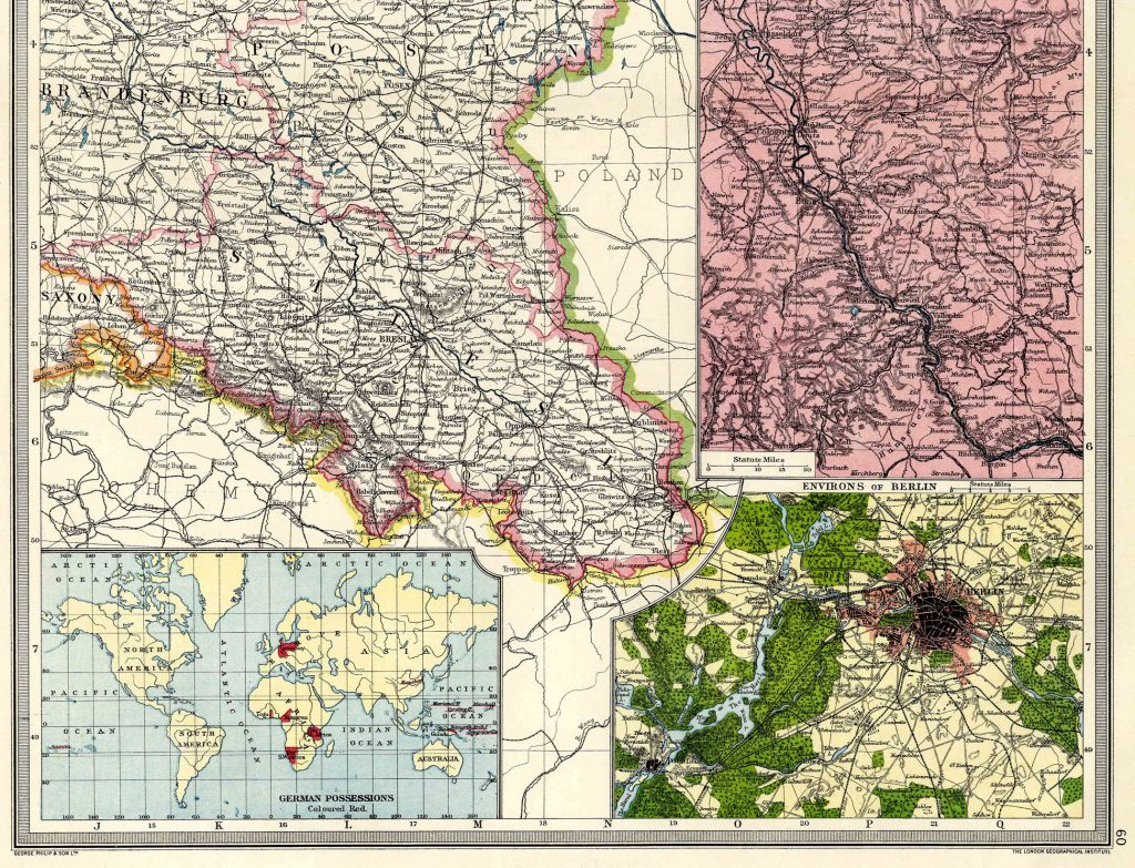 Eastern Germany South 1908