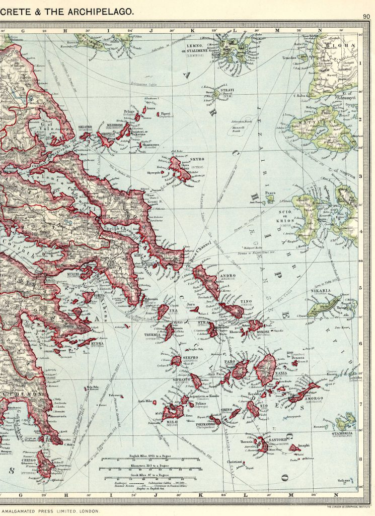 Greece East 1908
