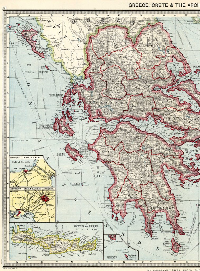 Greece West 1908