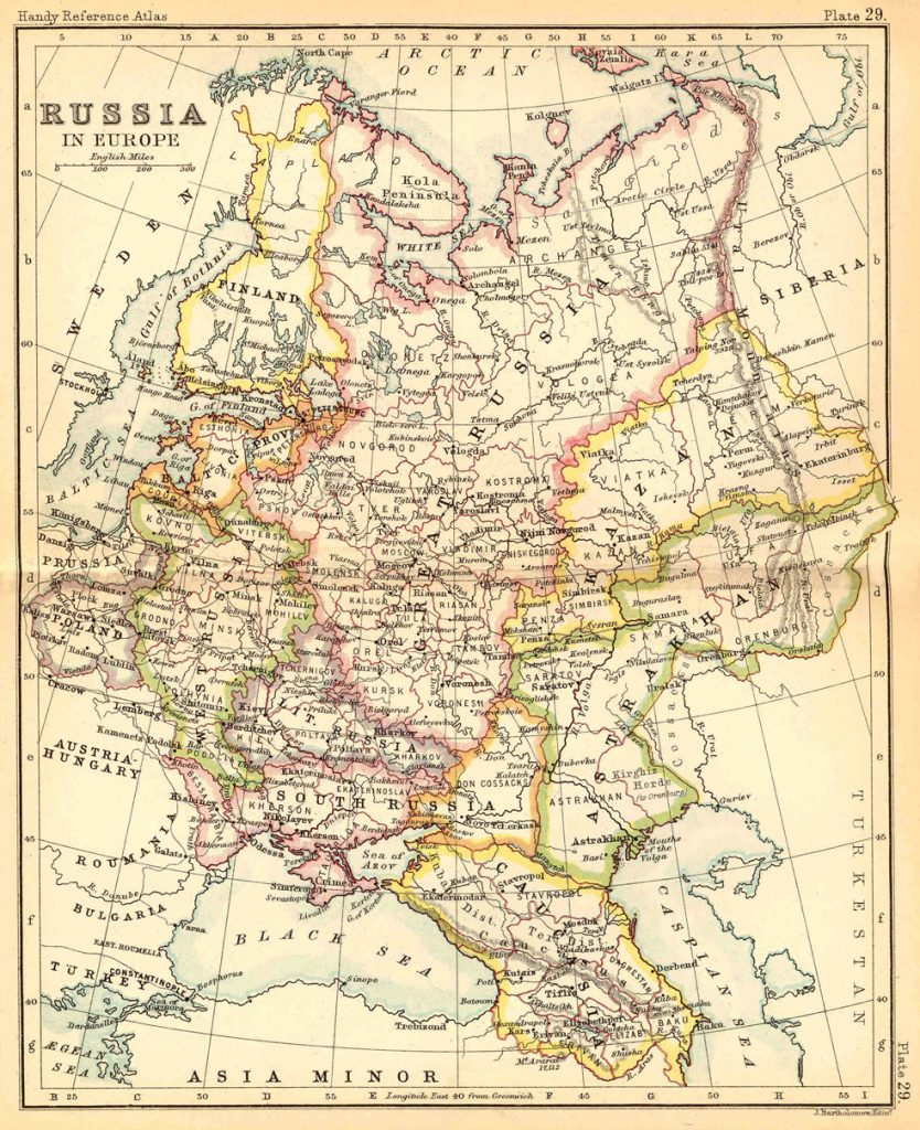Russia in Europe 1887