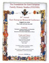 FEEFHS-Flyer for the 2019 Conference